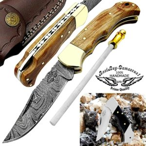 Pocket Knife Olive Wood