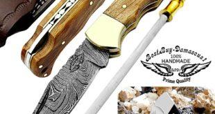 Pocket Knife Olive Wood